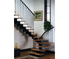 Установка металлических лестниц