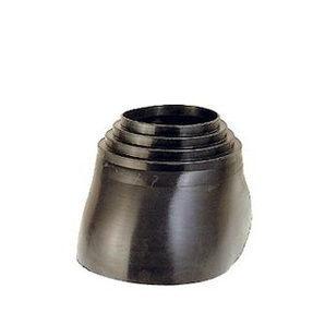 XL-Ворот трубы VILPE резиновый 175-250 мм черный