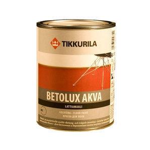 Полиуретано-акрилатная краска Tikkurila Betolux akva lattiamaali 2,7 л