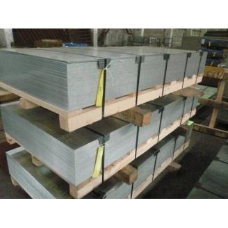 Лист холоднокатаный стальной 0,5х1250х2500 мм