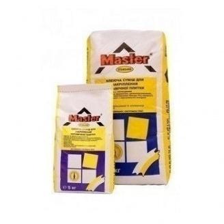Клеющая смесь Master Standard для закрепления керамической плитки 5 кг