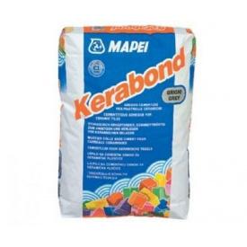 Клей для керамічної плитки Mapei Kerabond Т 25 кг сірий