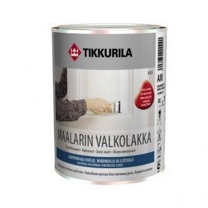 Алкидная краска для внутренних работ Tikkurila Maalarinvalkolakka 9 л полуматовая