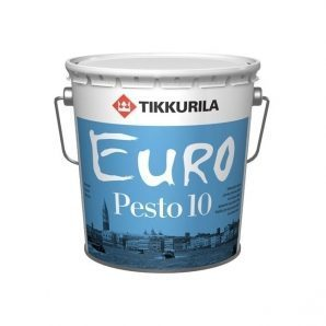 Алкидная краска Tikkurila Euro pesto 10 2,7 л матовая
