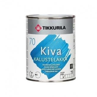 Акрилатный лак для мебели Tikkurila Kiva kalustelakka kiiltava 9 л глянцевый