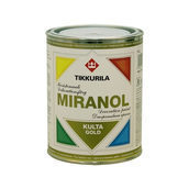 Декоративная краска Tikkurila Miranol koristemaali 0,1 л золотистая