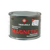 Водоразбавляемая краска специального применения Tikkurila Magnetic 0,5 л серая