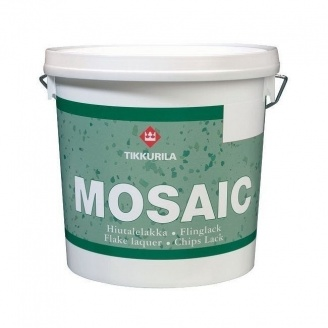 Лак з вкрапленнями Tikkurila Mosaic hiutalelakka 10 л безбарвний