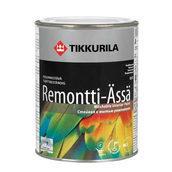 Акрилатная краска Tikkurila Remontti assa базис А 0,9 л полуматовая