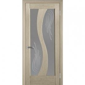 Міжкімнатні двері TERMINUS Modern Модель 15 засклені вибілений дуб