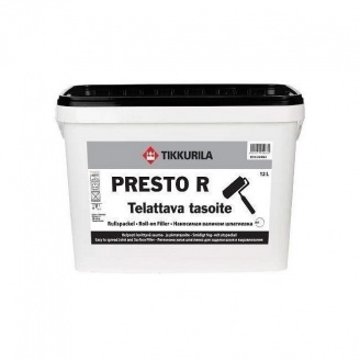 Легкая шпатлевка Tikkurila Presto R 12 л белая