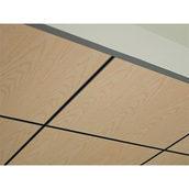 Панель підвісної стелі AMF System C видимий монтаж Thermatex Varioline Wood