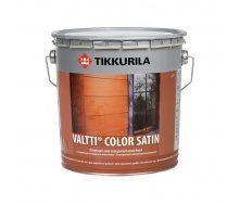 Лессирующий антисептик Tikkurila Valtti color satin kuultava puunsuoja 2,7 л полуматовый