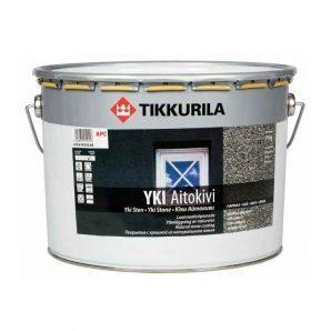 Водорозчинне кам'яне покриття Tikkurila Yki aitokivi harmaa 10 л матове