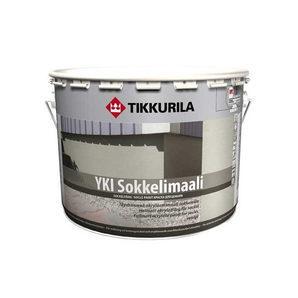 Лугостійка акрилатна фарба Tikkurila Yki sokkelimaali 18 л глибоко матова