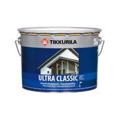 Полиакрилатная краска Tikkurila Ultra classic 9 л полуматовая