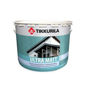 Полиакрилатная краска для дома Tikkurila Ultra matt 0,9 л матовая