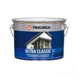 Поліакрилатна фарба Tikkurila Ultra classic 9 л напівматова