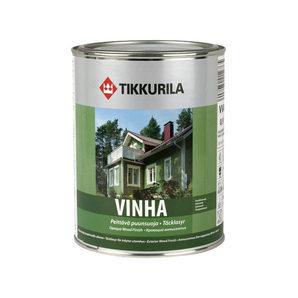Захисно-декоративний антисептик Tikkurila Vinha peittava puunsuoja 9 л напівматовий
