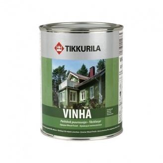 Защитно-декоративный антисептик Tikkurila Vinha peittava puunsuoja 9 л полуматовый