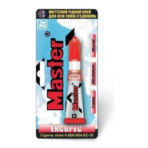 Супер-клей для повсякденного використання Master Експрес 2 г