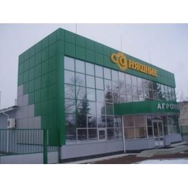 Вентилируемый фасад из композита Panabond