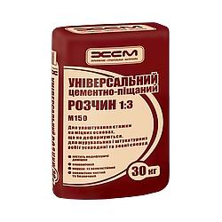 Универсальный цементно-песчаный раствор ХСМ М150 30 кг