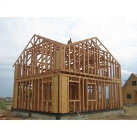 Будівництво каркасного дерев'яного будинку
