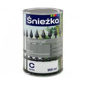 Хлоркаучуковая эмаль Sniezka база A 2,82 л белая