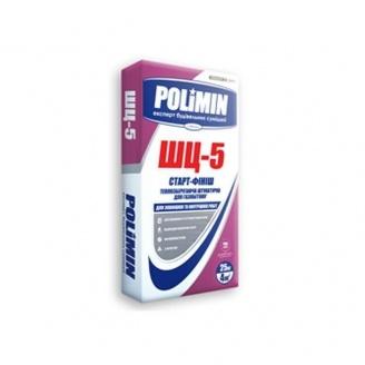 Штукатурка цементная Polimin Тепло-изол ШЦ-5 25 кг