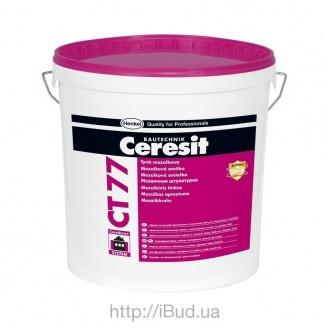 Акриловая декоративная штукатурка Ceresit CT 77 мозаичная 14 кг 12M