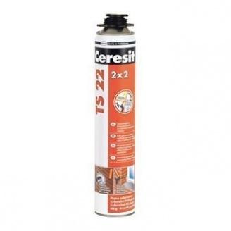 Монтажная пена Ceresit TS 22 для универсального применения 750 мл