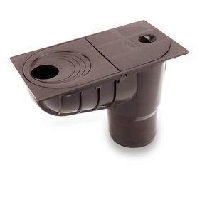 Дощоприймач універсальний Galeco 300х202 мм коричневий