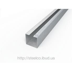 С-подібний профіль Steelco з оцинкованої сталі