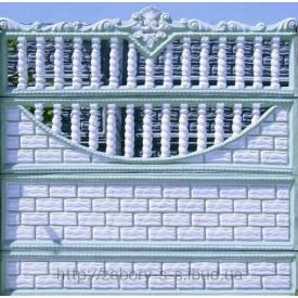 Железобетонный забор секционный