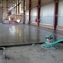 Пристрій промислових підлог