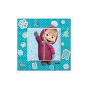 Выключатель двухклавишный VIKO KARRE Kids Маша зимой (90962743)