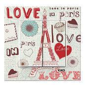 Выключатель двухклавишный VIKO KARRE Cities Paris (90962851)