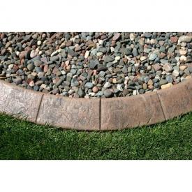 Ландшафтний бордюр з декоративного бетону переріз 150х100 мм