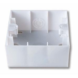 Короб для зовнішнього монтажу Viko KARRE Antibacterial білий (90969001)