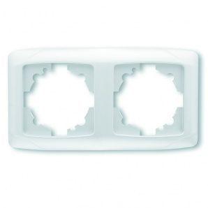 Подвійна горизонтальна рамка VIKO CARMEN 153,5х80,5 (9057Y102)