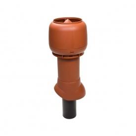 Вентиляционный выход для канализации VILPE 110/ИЗ/350 110х350 мм кирпичный