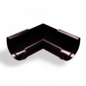 Кут жолоба зовнішній Wavin Kanion 100х213 мм 135 градусів чорний