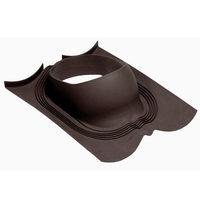 Проходной элемент VILPE DECRA для труб диаметр 110-160 мм под металлочерепицу коричневый