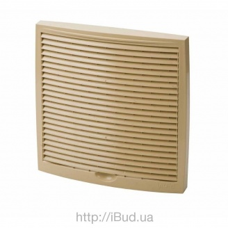 Наружная вентиляционная решетка Vilpe 150*150 мм бежевая