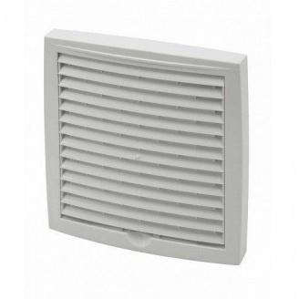 Наружная вентиляционная решетка Vilpe 150*150 мм белая