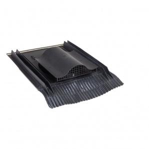 Покрівельний вентиль VILPE UNIVERSAL-KTV 532х400 мм чорний