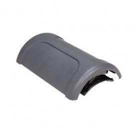Коньковый вентиль VILPE PELTI-KTV/HARJA 350х225 мм серый