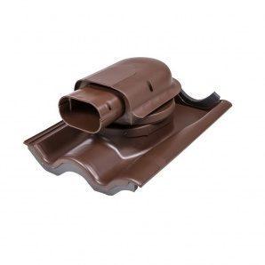 Прохідний елемент VILPE SOLAR TIILI 440х330 мм коричневий