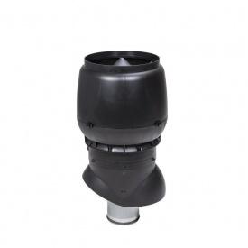 Вентиляционный выход VILPE XL-200/ИЗ/500 200х500 мм черный